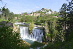 Waterfall in bosnia and herzegovina Stock Photo