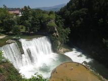Waterfall in Bosnia and Herzegovina Stock Photo