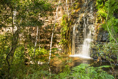 Waterfall in Botswana Royalty Free Stock Images