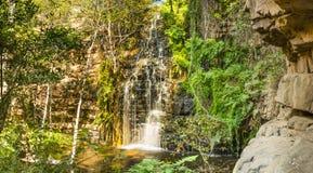 Waterfall in Botswana Stock Photography