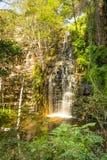 Waterfall in Botswana Stock Photo