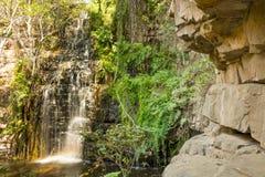 Waterfall in Botswana Stock Photos