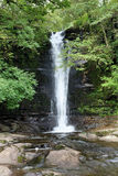 Waterfall in the Brecon Beacons, Wales Stock Image