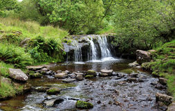 Waterfall in the Brecon Beacons, Wales Royalty Free Stock Photography