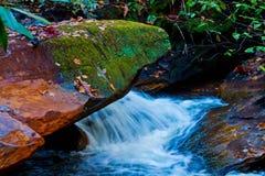 Waterfall in Brevard, NC Royalty Free Stock Image