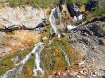 Waterfall. In Bucegi Mountains Romania Stock Image