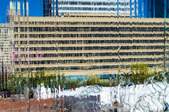 Waterfall Building Abstract Stock Photo