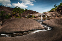 Waterfall in Bungkarn, Thailand Stock Photography