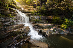 Waterfall in Bungkarn, Thailand Stock Image