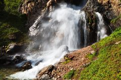 WaterFall of Burhan Bulak Stock Images