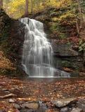 Waterfall at Bushkill Falls PA. stock photos