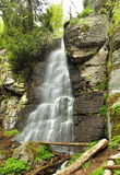 Waterfall Bystre in Polana region, Slovakia Stock Image