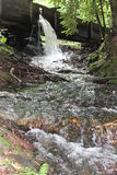 Waterfall at Cable Mill in Cades Cove Stock Photography