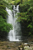 Waterfall on Caerfanell Stock Photography