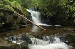 Waterfall on Caerfanell River Royalty Free Stock Image