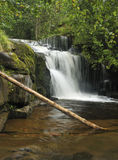 Waterfall on Caerfanell River Stock Photography