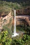 Waterfall at Cahpada dos Guimarães Stock Photography