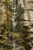 Waterfall in California Canyon Royalty Free Stock Photos