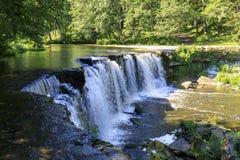 Waterfall called Keila Juga in Estonia Royalty Free Stock Photography
