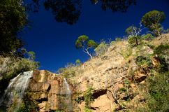 Waterfall. Called Piolho Located at Milho Verde district, Minas Gerais Estate, Brazil Stock Images