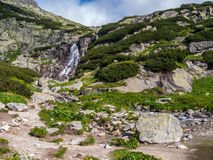 Waterfall called Skok, High Tatras Slovakia Stock Image