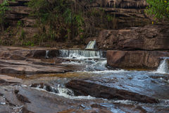 Waterfall in Cambodia Stock Images