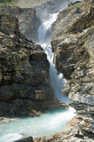 Waterfall in the Canadian Rockies Stock Images