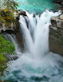 Waterfall, Canadian Rockies, Canada Royalty Free Stock Image