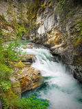Waterfall, Canadian Rockies Royalty Free Stock Photography