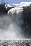 Waterfall in the Canaima Lagoon, Venezuela Royalty Free Stock Image