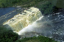Waterfall, Canaima, Venezuela Royalty Free Stock Photo