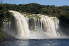 Waterfall at Canaima, Venezuela Stock Image