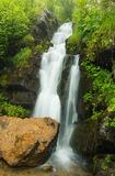 Waterfall in canyon Stock Photos