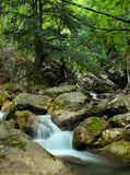 Waterfall in canyon Royalty Free Stock Photography