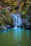 Waterfall in the canyon Royalty Free Stock Photos