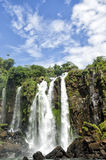 The Waterfall cascade. San,Marti in Iguasu Stock Photo
