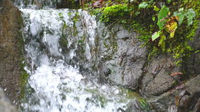 Waterfall cascade stock video footage