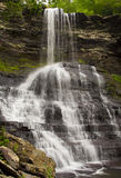 Waterfall in the Cascades Giles County Virginia Royalty Free Stock Image