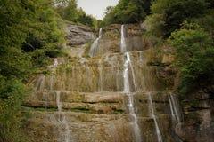 Waterfall cascades in the Jura France