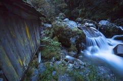 Waterfall Cascades. A waterfall near the Everest Region of Nepal Stock Photography