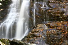Beautiful Cascading waterfalls Royalty Free Stock Image