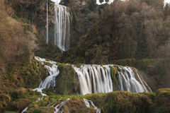 Waterfall - Cascata delle Marmore Royalty Free Stock Image