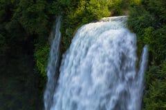 Waterfall Cascata Delle Marmore Terni Royalty Free Stock Photo
