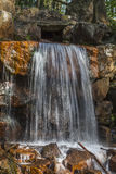 Waterfall at the casino park in spring, Lower Saxony, Germany Royalty Free Stock Images
