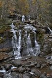Waterfall in the Catskill mountains Royalty Free Stock Photo