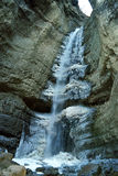 Waterfall.Caucasus. Stock Image