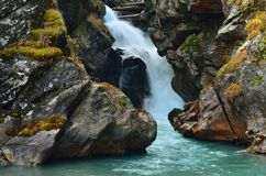 Waterfall in Caucasus Royalty Free Stock Photos