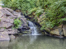 Waterfall Central Park Royalty Free Stock Images
