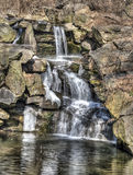 Waterfall in Central Park Royalty Free Stock Photos