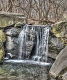 Waterfall in Central Park Royalty Free Stock Images